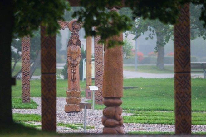 Balts' Deity sculpture museum