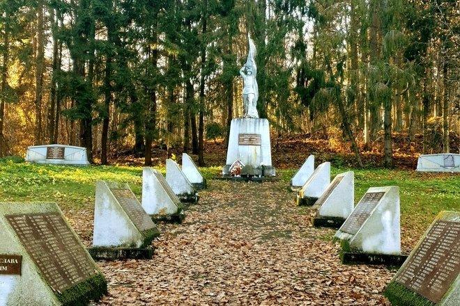 Bubių Pirmojo ir Antrojo pasaulinių karų karių kapai