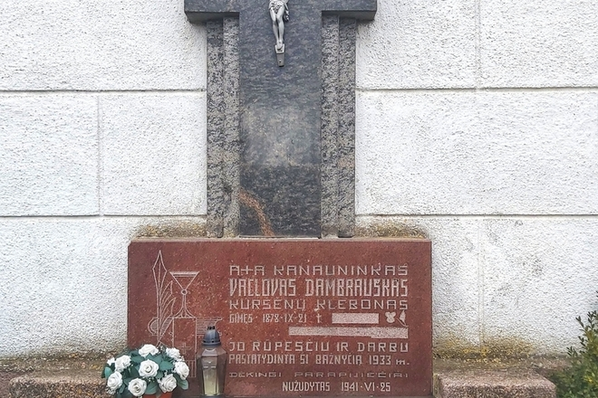 Kunigo Vaclovo Dambrausko kapas