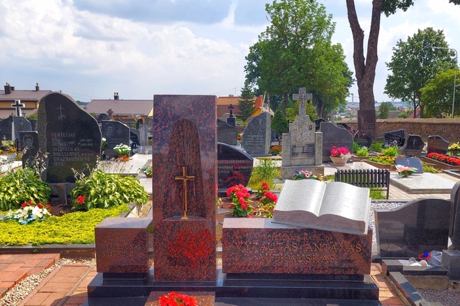 Kalbininko Vytauto Vitkausko kapas