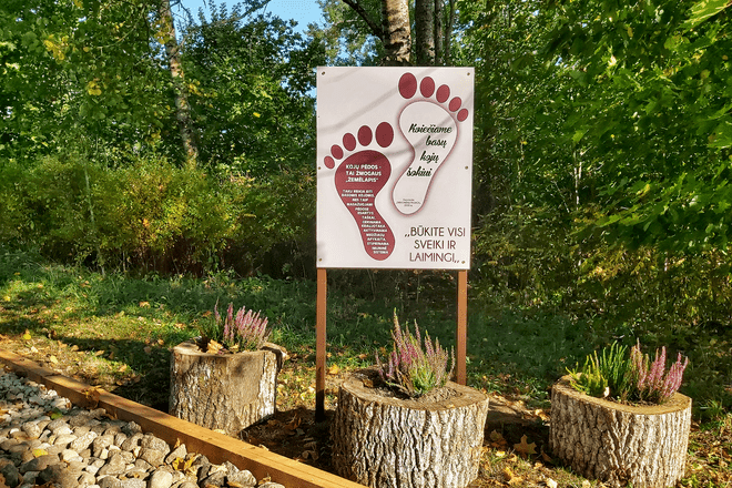 Barefoot trail