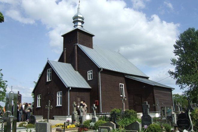 Sereikiai Cemetery Chapel