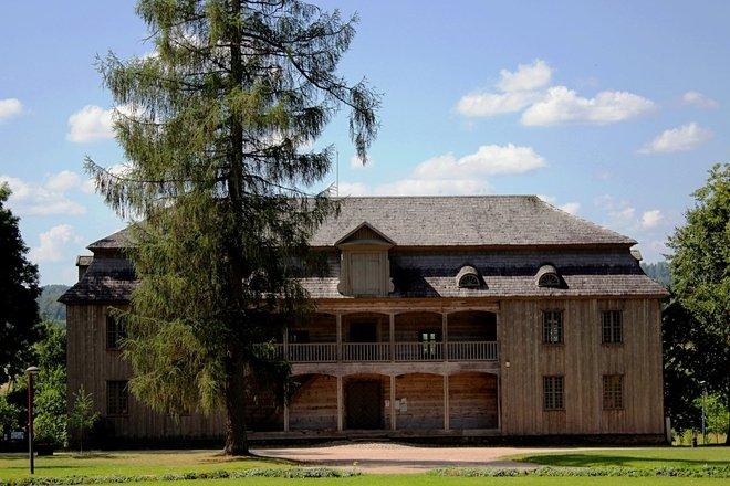 Kurtuvėnai Manor trail