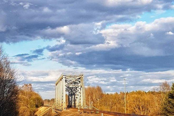Daugėlių geležinkelio tiltas per Ventos upę