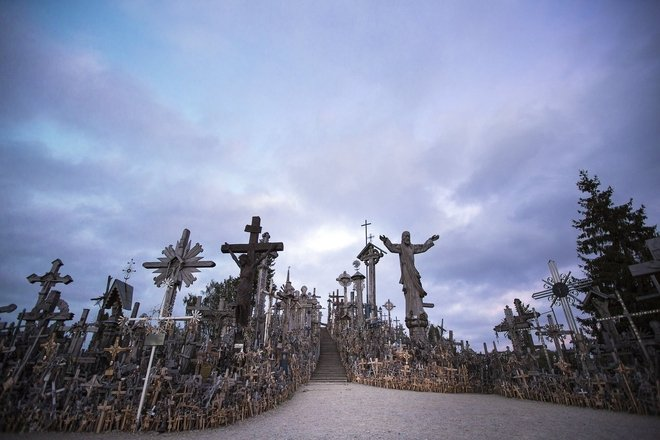 The history of the Hill of Crosses since the ancient times up to the present day
