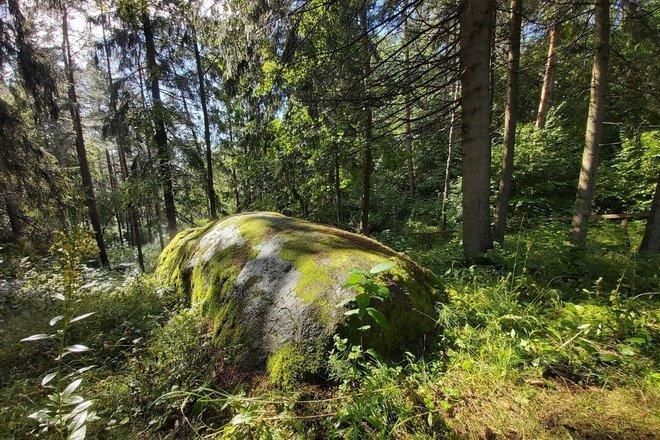 Šilkalnis (Martynas') stone
