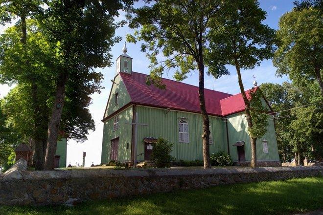 Pakapė Church of the Assumption of St.Virgin Mary