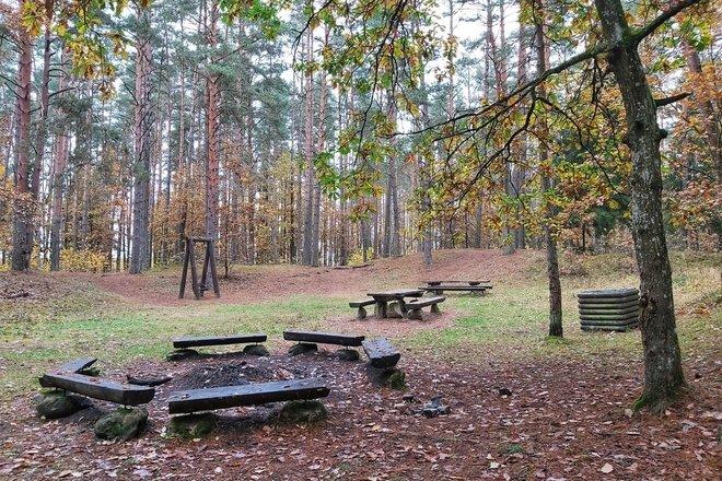Šilelio miško poilsiavietė ir takas