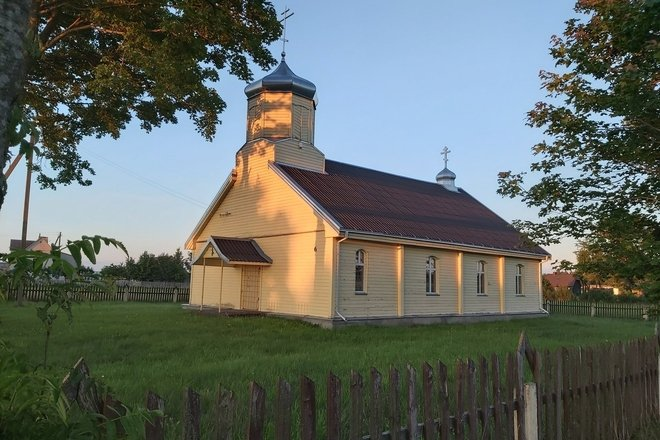 Smilgiai Old Believers' Church of St.Jonh the Baptist