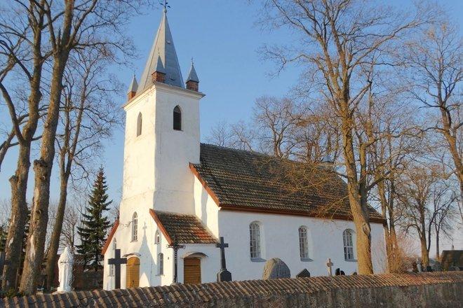 Žarėnai Church of St. Mikalojus